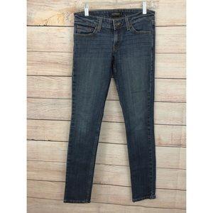 Levi's 3 Super Low Dark Wash Skinny Jeans